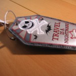 """The Nightmare Before Christmas"" Luggage Tag Front View"