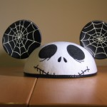 Jack Skellington Mickey Mouse Ears Front View
