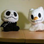 Baby Jack Skellington and Baby Zero
