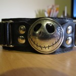 Closeup of Jack Skellington Wristband