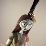 Closeup of Sally Christmas Ornament Head