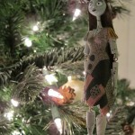 Hanging Sally Christmas Ornament