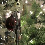 Hanging Jack Skellington Christmas Ornament