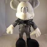 Mickey Mouse as Jack Skellington Plush Doll Front View