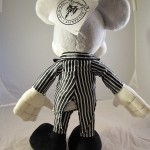 Mickey Mouse as Jack Skellington Plush Doll Back View